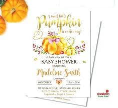 Pumpkin Invitations Template Pumpkin Baby Shower Invitations S Etsy Invitation Template Cafe322 Com