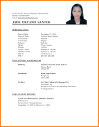 Sample Resume Jollibee Applicant Resume Ixiplay Free Resume Samples