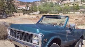 1972 Chevrolet Blazer 4X4 SOLD by www.CaliforniaClassicCar.com ...