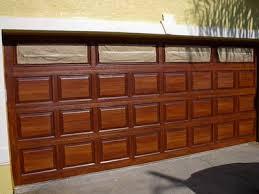 diy faux wood garage doors. painted steel garage doors diy faux wood
