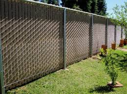 chain link fence slats brown. Chain Link Privacy Slats Fence Brown O