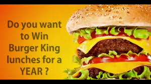 particularly america get burger king lunch for a year go go go particularly america get burger king lunch for a year go go go