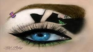 top 10 crazy cool eye makeup