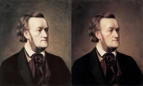 diffe versions of cäsar willich s portrait of richard wagner ca 1862