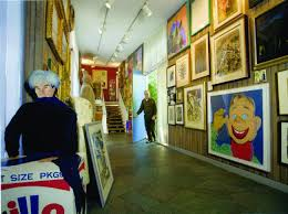 some of the extraordinary collection of art in the cambridge residence of alan dershowitz and ine cohen