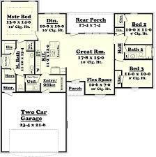 unique 3 bedroom house plans no garage simple bedroom small one story free 3 bedroom 2