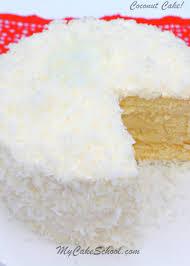 Coconut Cake Recipe From Scratch My Cake School