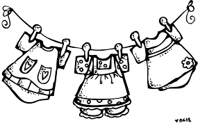hanging laundry clipart black and white. Interesting Hanging Hanging Drawing Washing Cloth 113397354 To Hanging Laundry Clipart Black And White