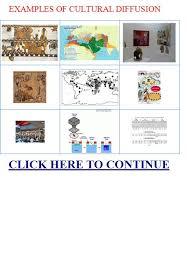 cultural diffusion essay cultural diffusion examples