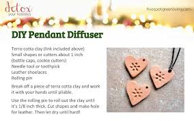 diy pendant diffuser detox your holidays homemade gifts
