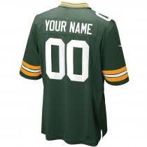 green bay packers custom home game jersey