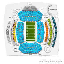 Nebraska Cornhuskers Stadium Seating Chart Nebraska Football Seating Memorial Stadium Nebraska Seating