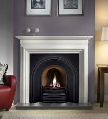 cast iron insert fireplace google search