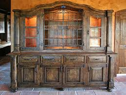 Old world furniture design Dining Old World Hutch Great Southwest Furniture Design Inc Mike Roths Bear Paw Designs Bars Backbars Hutches