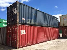 used container wind and water tight container conex mil van