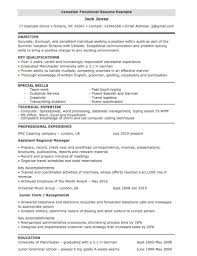 11 Touch Fine Dining Resume Samples Depiction Qoetcex Bailbonds La