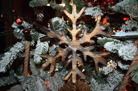 wooden snowflake ornaments ornament large decoration wooden snowflake