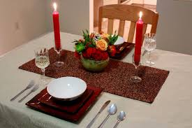Setting A Dinner Table Candle Light Dinner Table Setting Candlelight Dinner Table Settingjpg