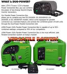 energy storm ier lifan power usa duo power