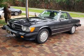 I take viewers on a close look through the interior and exterior of this. Hemmings Auctions Two Owner Mechanically Freshened 1987 Mercedes Benz 560sl