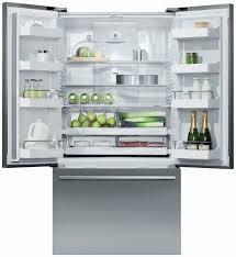 Huge Refrigerator Fisher Paykel Rf201adx5 36 Inch Counter Depth French Door