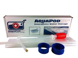Amazon.com: Emergency Drinking Water Storage by AquaPodKit - Made ...