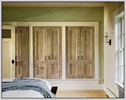 doors custom closet doors custom closet doors rustic woode closet door modern bedroom with