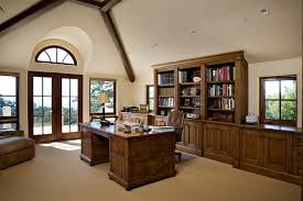 amazing home office home office bookshelf ideas home office traditional with exposed beams vaulted ceiling exposed amazing office home office