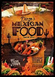 mexican food menu design.  Menu Mexican Food Menu And Design GraphicRiver