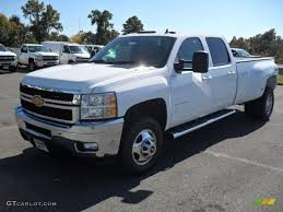 2012 Summit White Chevrolet Silverado 3500HD LTZ Crew Cab 4x4 ...