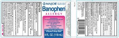 Banophen Allergy