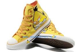 converse shoes yellow. academy converse shoes angry yellow birds all star chuck taylor high top 30 1661330