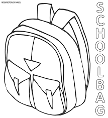 Small Picture School bag coloring pages Coloring pages to download and print