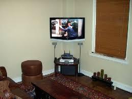 image of corner tv wall mount full motion