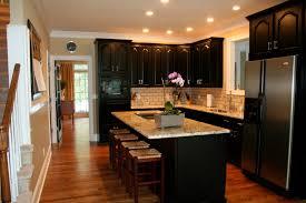 Kitchen Colors Dark Cabinets Design Dump House 5 Kitchen Before After