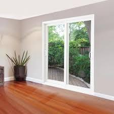 double sliding patio door clear low e