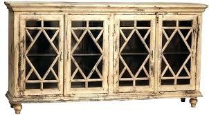 buffet with glass doors. Buffet With Glass Doors Diamond Door Black A