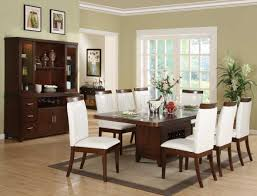 fanciful white leather dining room chairs furniture creative decoration design ideas with great pedestal table as