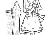 Simple Clothing Coloring Pages With Communion For Kids