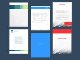 Letterhead Design Online Letterhead Maker Design Letterheads Online 7 Free Templates