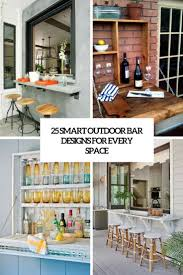 Outside Home Bar Designs Outdoor Home Bar Archives Digsdigs