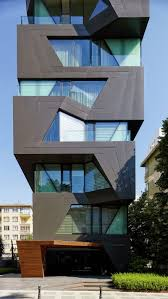 The Exterior Of This Apartment Building Is A Break From The Cookie - Modern apartment building facade