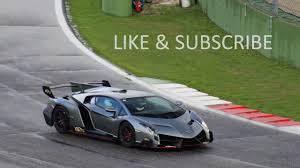 Lamborghini Veneno Test Drive Top Speed - YouTube