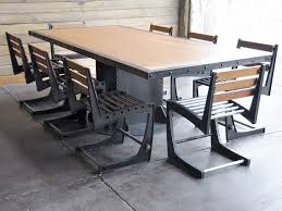vintage and industrial furniture. i beam conference table vintage and industrial furniture