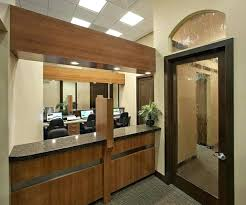 office front desk design design. Dental Office Front Desk Design Reception With Curved And Frosted Glass Door At Location Of Coronation .