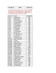 Floriani Thread Conversion Chart Best Picture Of Chart