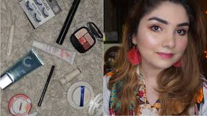 miniso one brand makeup tutorial using all miniso makeup s in urdu hindi