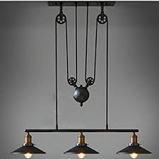 retro pendant lighting fixtures. WINSOON Industrial Vintage Chandeliers Pulley 3 Light Pendant Lighting Fixture For Pool Table Farmhouse Kitchen Island Retro Fixtures L