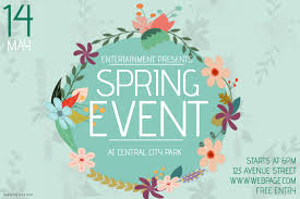 Spring Event Flyer Landscape Spring Event Flyer Template Postermywall