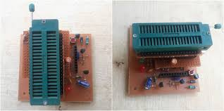 picture of diy universal pic and avr programmer